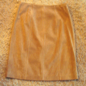 Suede Lined Skirt 6 Gorgeous